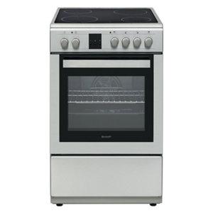 Готварска печка (ток) Sharp KF-66FVDD22IM-CH*** , 600х850х600 ш/в/д mm, Керамични
